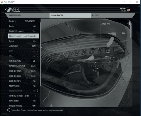 Ma Configuration Pour Project Cars Oculus